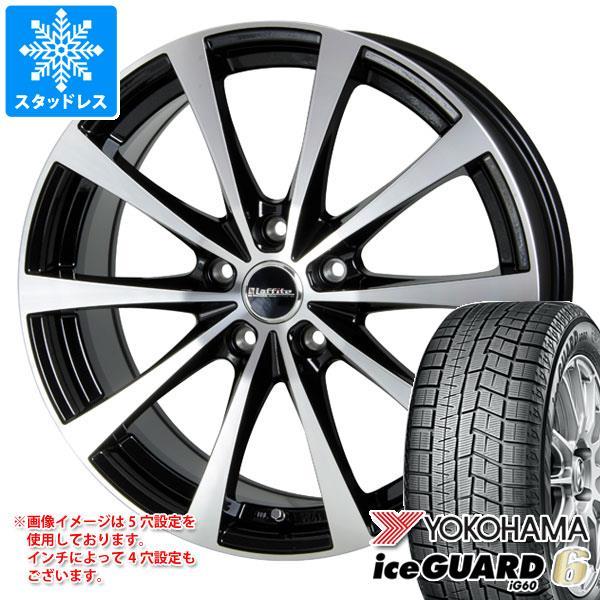スタッドレスタイヤ ヨコハマ アイスガードシックス iG60 165/70R14 81Q & ラフィット LE-03 5.5-14 タイヤホイール4本セット 165/70-14 YOKOHAMA iceGUARD 6 iG60