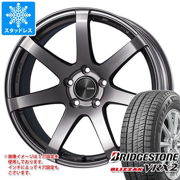 スタッドレスタイヤ ブリヂストン ブリザック VRX2 245/40R18 93Q & ENKEI エンケイ パフォーマンスライン PF07 8.5-18 タイヤホイール4本セット 245/40-18 BRIDGESTONE BLIZZAK VRX2