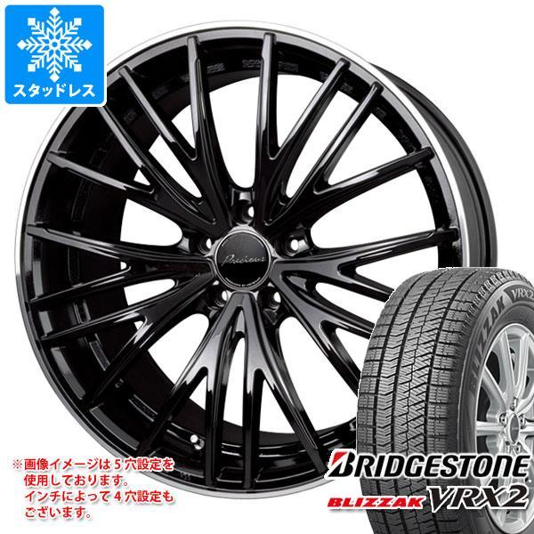 スタッドレスタイヤ ブリヂストン ブリザック VRX2 165/55R15 75Q & プレシャス アスト M1 4.5-15 タイヤホイール4本セット 165/55-15 BRIDGESTONE BLIZZAK VRX2