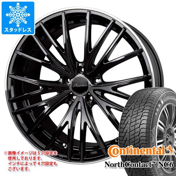 スタッドレスタイヤ コンチネンタル ノースコンタクト NC6 235/55R18 104T XL & プレシャス アスト M1 8.0-18 タイヤホイール4本セット 235/55-18 CONTINENTAL NorthContact NC6