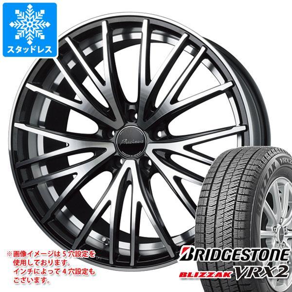 スタッドレスタイヤ ブリヂストン ブリザック VRX2 155/55R14 69Q & プレシャス アスト M1 4.5-14 タイヤホイール4本セット 155/55-14 BRIDGESTONE BLIZZAK VRX2