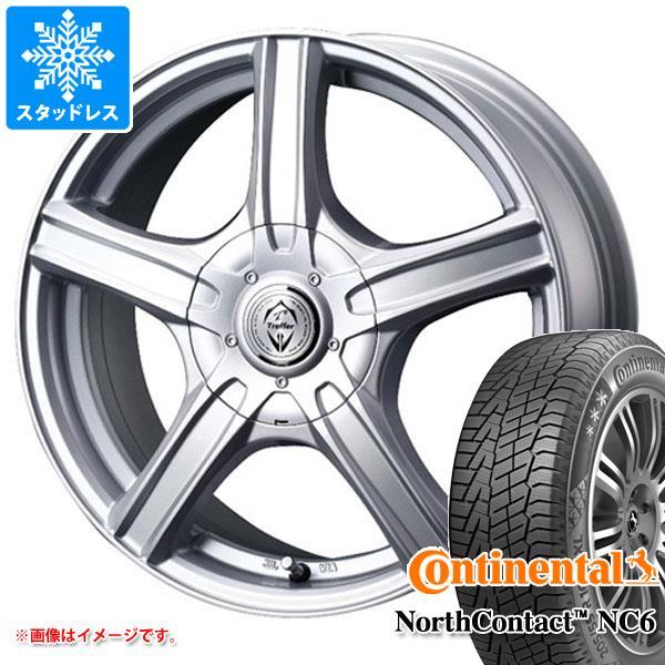 スタッドレスタイヤ コンチネンタル ノースコンタクト NC6 195/65R15 91T & トレファー MH 6.0-15 タイヤホイール4本セット 195/65-15 CONTINENTAL NorthContact NC6