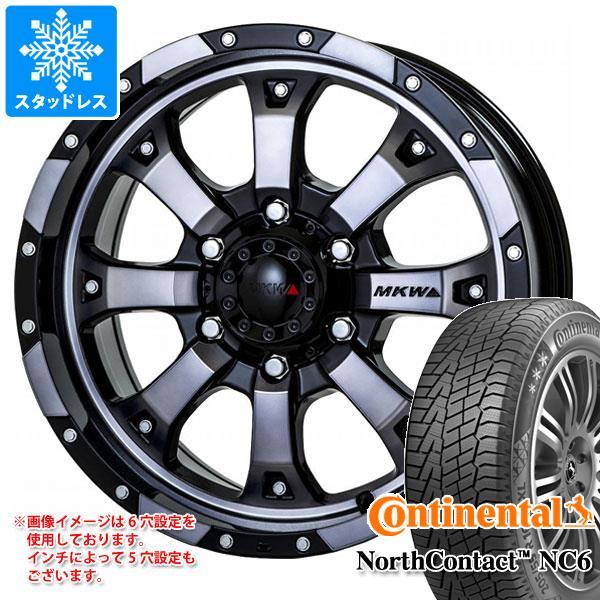 スタッドレスタイヤ コンチネンタル ノースコンタクト NC6 215/65R16 102T XL & MK-46 DGC 7.0-16 タイヤホイール4本セット 215/65-16 CONTINENTAL NorthContact NC6