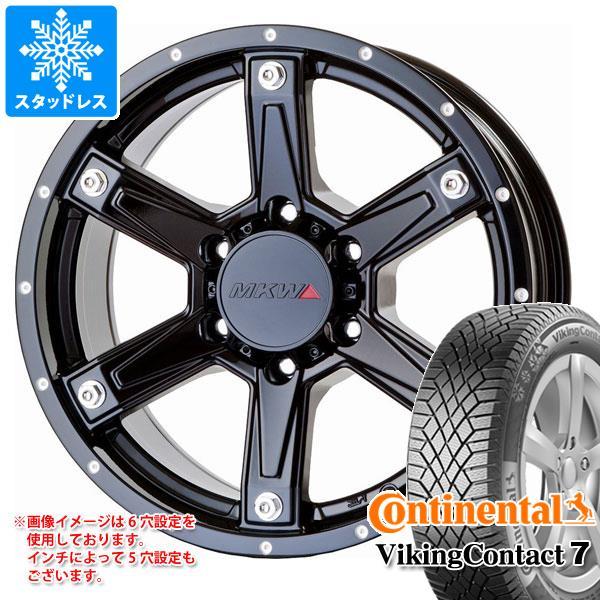 スタッドレスタイヤ コンチネンタル バイキングコンタクト7 215/60R16 99T XL Seal & MK-56 MB 7.0-16 タイヤホイール4本セット 215/60-16 CONTINENTAL VikingContact 7