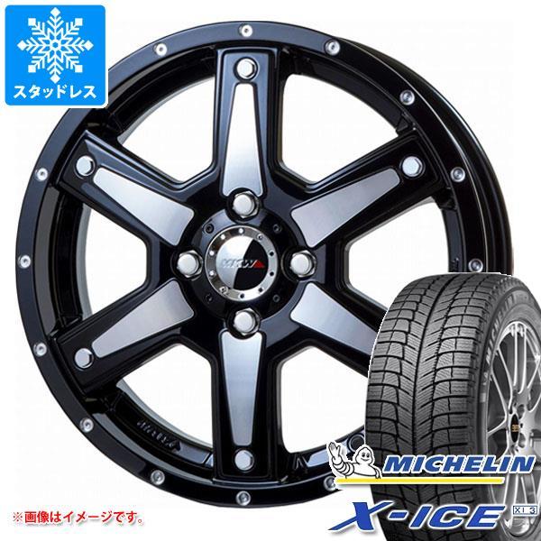 スタッドレスタイヤ ミシュラン エックスアイス XI3 165/55R15 75T & MK-56 MMB 軽カー専用 4.5-15 タイヤホイール4本セット 165/55-15 MICHELIN X-ICE XI3