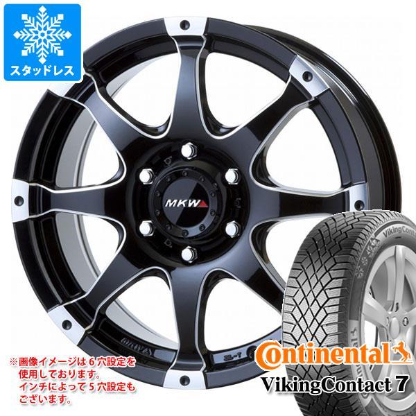 スタッドレスタイヤ コンチネンタル バイキングコンタクト7 215/60R16 99T XL Seal & MK-76 MMB 7.0-16 タイヤホイール4本セット 215/60-16 CONTINENTAL VikingContact 7