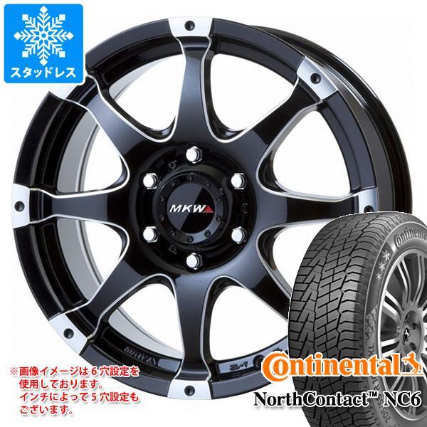 スタッドレスタイヤ コンチネンタル ノースコンタクト NC6 215/65R16 102T XL & MK-76 MMB 7.0-16 タイヤホイール4本セット 215/65-16 CONTINENTAL NorthContact NC6