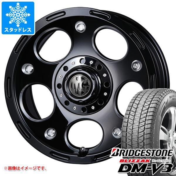 スタッドレスタイヤ ブリヂストン ブリザック DM-V3 265/65R17 112Q & クリムソン MG デーモン 8.0-17 タイヤホイール4本セット 265/65-17 BRIDGESTONE BLIZZAK DM-V3