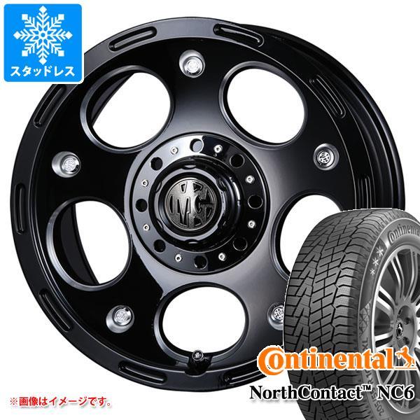 スタッドレスタイヤ コンチネンタル ノースコンタクト NC6 235/65R17 108T XL & クリムソン MG デーモン 7.5-17 タイヤホイール4本セット 235/65-17 CONTINENTAL NorthContact NC6