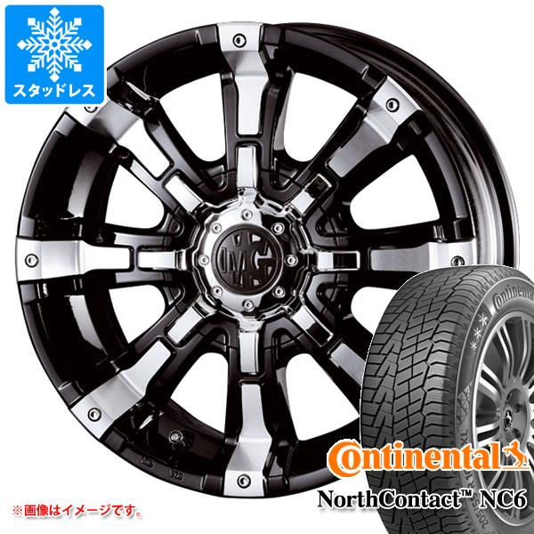 スタッドレスタイヤ コンチネンタル ノースコンタクト NC6 225/55R17 97T & クリムソン MG ビースト 7.0-17 タイヤホイール4本セット 225/55-17 CONTINENTAL NorthContact NC6