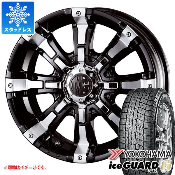 スタッドレスタイヤ ヨコハマ アイスガードシックス iG60 225/65R17 102Q & クリムソン MG ビースト 7.0-17 タイヤホイール4本セット 225/65-17 YOKOHAMA iceGUARD 6 iG60
