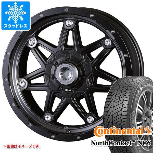 スタッドレスタイヤ コンチネンタル ノースコンタクト NC6 215/60R17 96T & クリムソン MG ライカン 7.0-17 タイヤホイール4本セット 215/60-17 CONTINENTAL NorthContact NC6