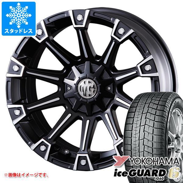 スタッドレスタイヤ ヨコハマ アイスガードシックス iG60 225/55R17 97Q & クリムソン MG モンスター 7.0-17 タイヤホイール4本セット 225/55-17 YOKOHAMA iceGUARD 6 iG60