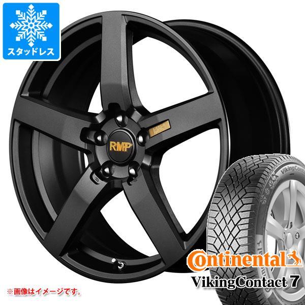 スタッドレスタイヤ コンチネンタル バイキングコンタクト7 215/55R18 99T XL & RMP 050F 7.0-18 タイヤホイール4本セット 215/55-18 CONTINENTAL VikingContact 7