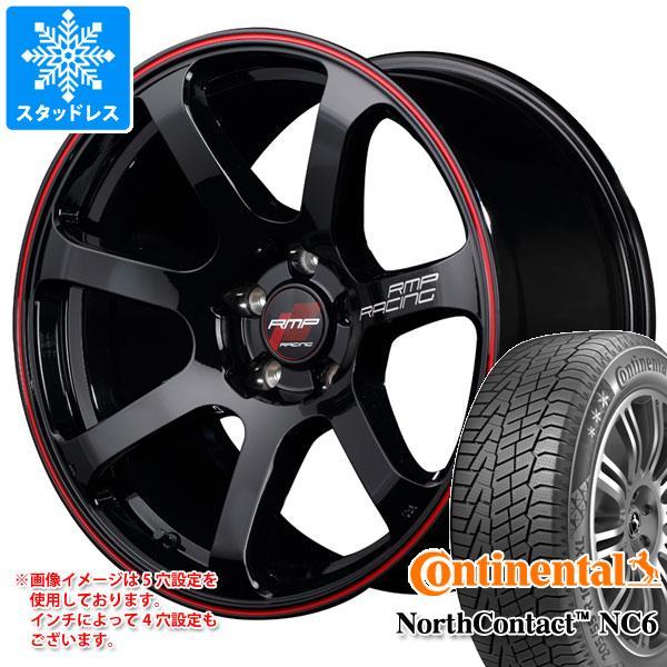 スタッドレスタイヤ コンチネンタル ノースコンタクト NC6 225/60R17 99T & RMP レーシング R07 7.0-17 タイヤホイール4本セット 225/60-17 CONTINENTAL NorthContact NC6