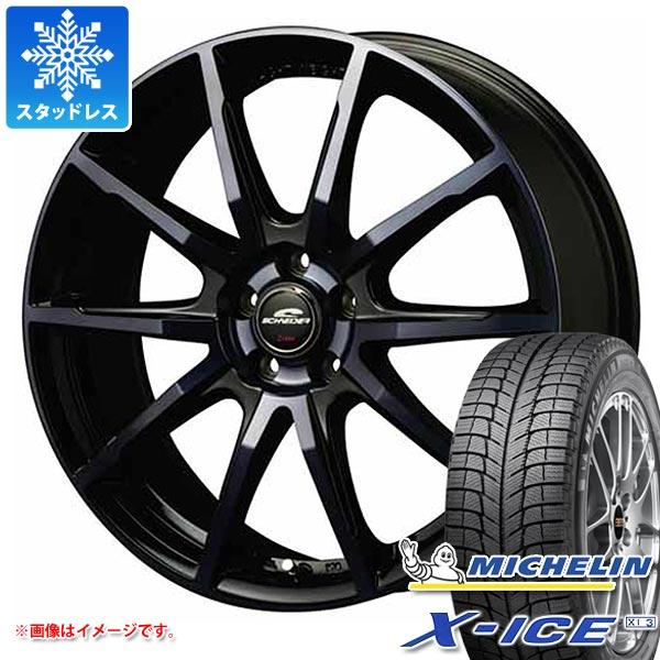 スタッドレスタイヤ ミシュラン エックスアイス XI3 155/65R13 73T & シュナイダー DR-01 BPBC 4.0-13 タイヤホイール4本セット 155/65-13 MICHELIN X-ICE XI3