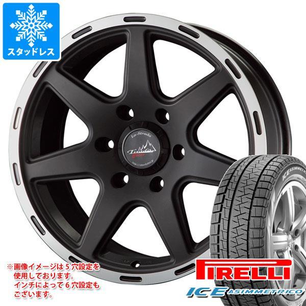 スタッドレスタイヤ ピレリ アイスアシンメトリコ 205/65R16 95Q & ティラード クロス 7.0-16 タイヤホイール4本セット 205/65-16 PIRELLI ICE ASIMMETRICO
