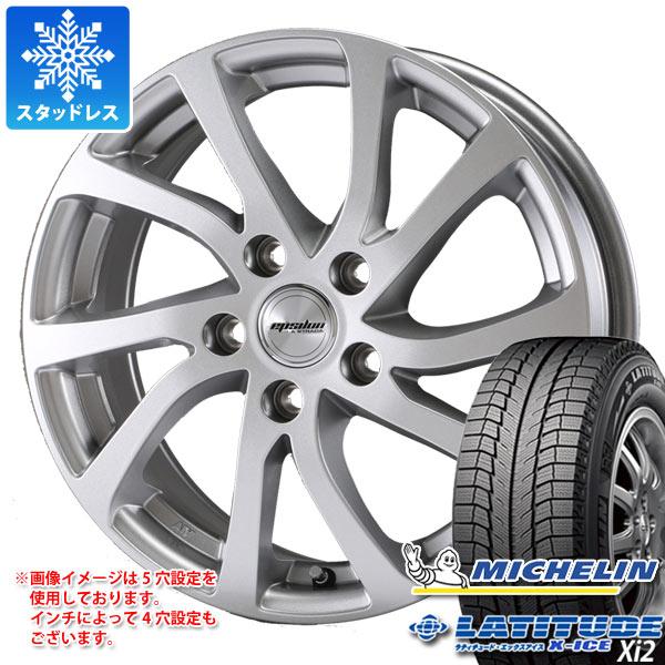 スタッドレスタイヤ ミシュラン ラティチュード エックスアイス XI2 235/70R16 106T & ティラード イプシロン 6.5-16 タイヤホイール4本セット 235/70-16 MICHELIN LATITUDE X-ICE XI2
