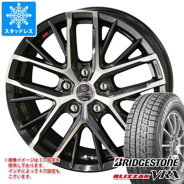 スタッドレスタイヤ ブリヂストン ブリザック VRX 205/65R15 94Q & スマック レヴィラ 6.0-15 タイヤホイール4本セット 205/65-15 BRIDGESTONE BLIZZAK VRX