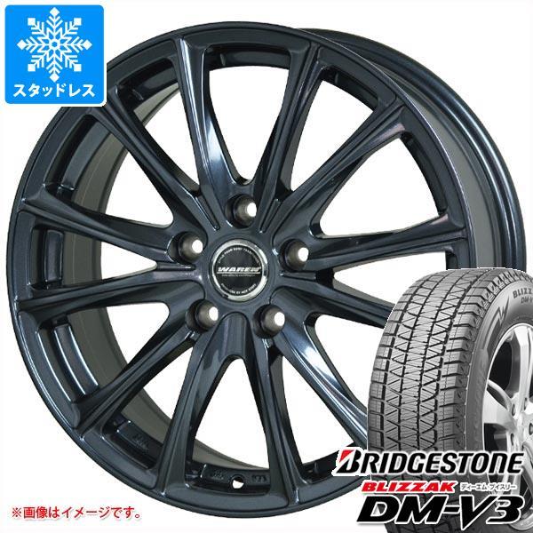 スタッドレスタイヤ ブリヂストン ブリザック DM-V3 225/70R16 103Q & ヴァーレン W05 6.5-16 タイヤホイール4本セット 225/70-16 BRIDGESTONE BLIZZAK DM-V3