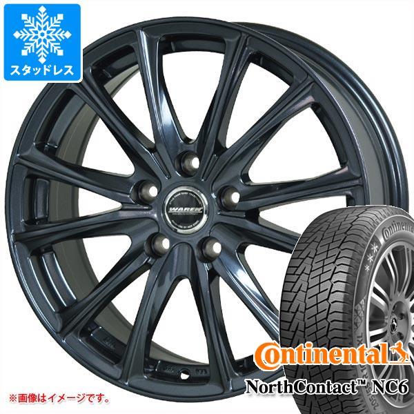 スタッドレスタイヤ コンチネンタル ノースコンタクト NC6 185/65R15 92T XL & ヴァーレン W05 タイヤホイール4本セット 185/65-15 CONTINENTAL NorthContact NC6