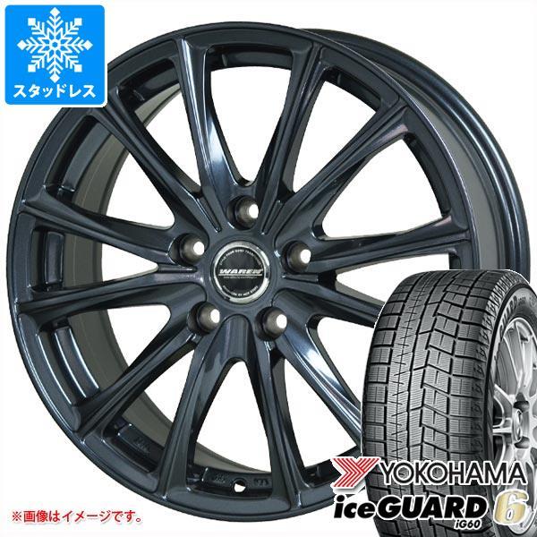 スタッドレスタイヤ ヨコハマ アイスガードシックス iG60 205/60R15 91Q & ヴァーレン W05 6.0-15 タイヤホイール4本セット 205/60-15 YOKOHAMA iceGUARD 6 iG60