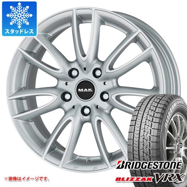MINI ミニ F55/F56用 スタッドレス ブリヂストン ブリザック VRX 175/65R15 84Q MAK ジャッキー タイヤホイール4本セット
