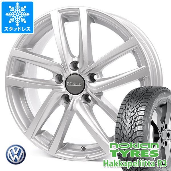 VW e-ゴルフ用 スタッドレス ノキアン ハッカペリッタ R3 205/55R16 94R XL MAK ドレスデン タイヤホイール4本セット