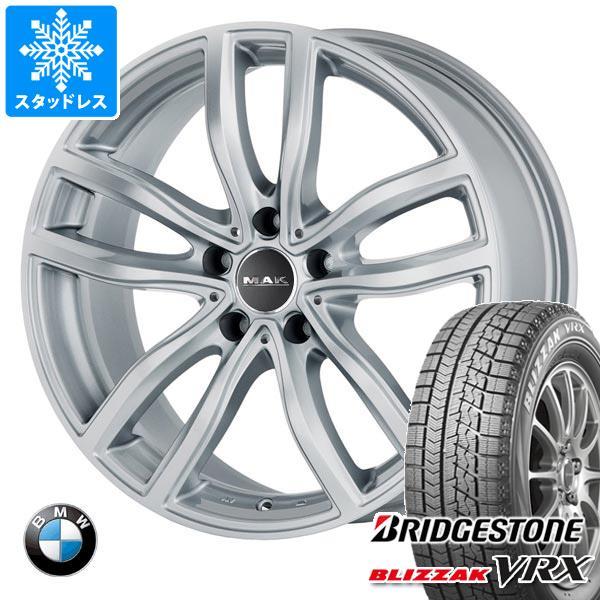 BMW G20 3シリーズ用 スタッドレス ブリヂストン ブリザック VRX 205/60R16 92Q MAK ファー シルバー タイヤホイール4本セット