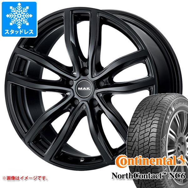 BMW G29 Z4用 スタッドレス コンチネンタル ノースコンタクト NC6 225/45R18 95T XL MAK ファー ブラック タイヤホイール4本セット