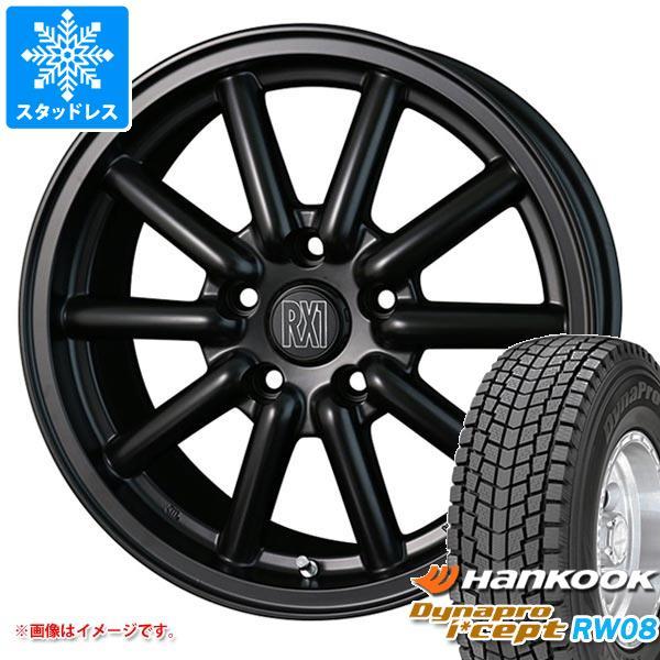 スタッドレスタイヤ ハンコック ダイナプロアイセプト RW08 215/70R16 100Q & ドゥオール フェニーチェ RX1 7.0-16 タイヤホイール4本セット 215/70-16 HANKOOK Dynapro i cept RW08