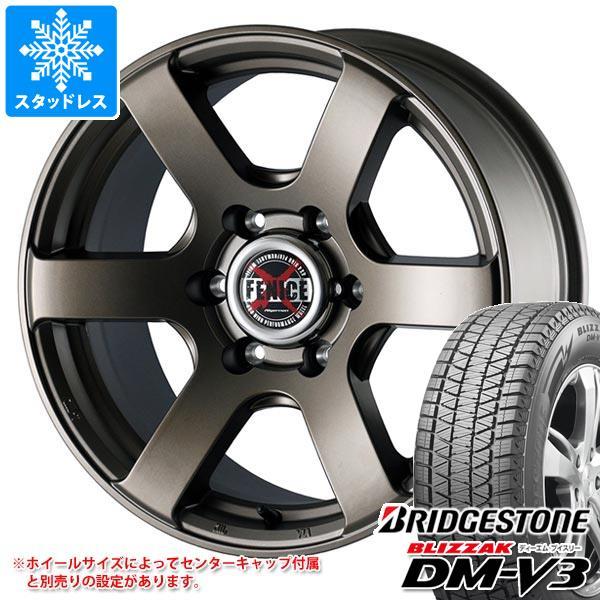 スタッドレスタイヤ ブリヂストン ブリザック DM-V3 225/65R17 102Q & ドゥオール フェニーチェ クロス XC6 MBR 7.5-17 タイヤホイール4本セット 225/65-17 BRIDGESTONE BLIZZAK DM-V3