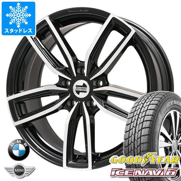 BMW G20 3シリーズ用 スタッドレス グッドイヤー アイスナビ6 225/45R18 91Q ケレナーズ ジュニア GF5 BK/P タイヤホイール4本セット