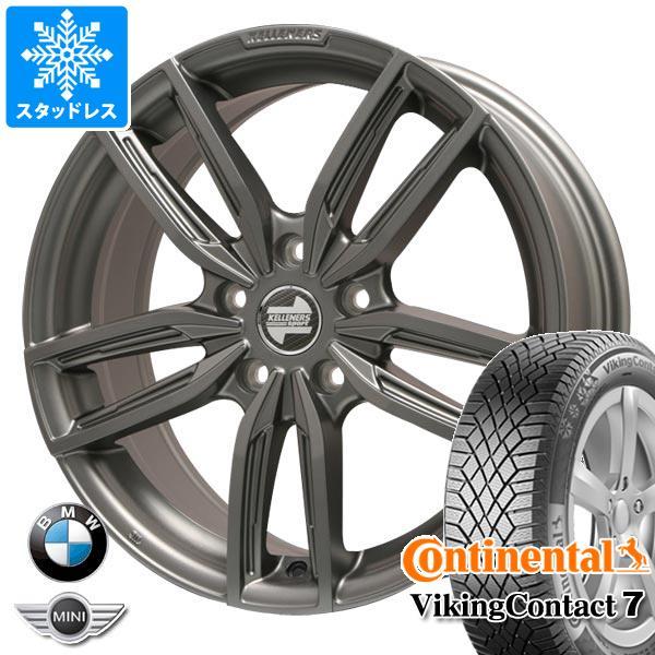 BMW G20 3シリーズ用 スタッドレス コンチネンタル バイキングコンタクト7 225/45R18 95T XL ケレナーズ ジュニア GF5 MT タイヤホイール4本セット