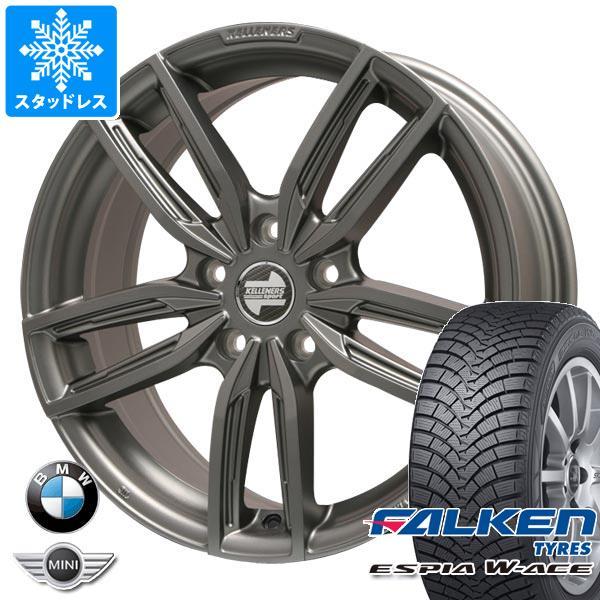BMW F25 X3用 スタッドレス ファルケン エスピア ダブルエース 245/50R18 100H ケレナーズ ジュニア GF5 MT タイヤホイール4本セット