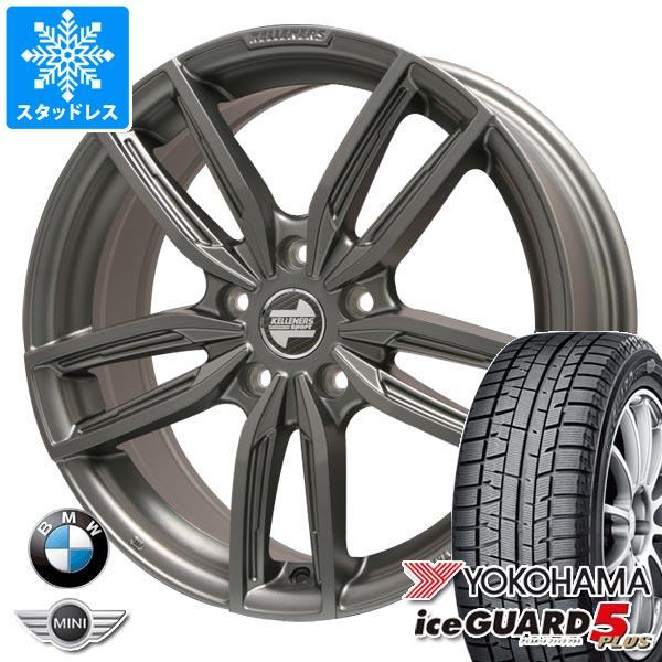 BMW F40 1シリーズ用 スタッドレス ヨコハマ アイスガードファイブ プラス iG50 205/55R16 91Q ケレナーズ ジュニア GF5 MT タイヤホイール4本セット