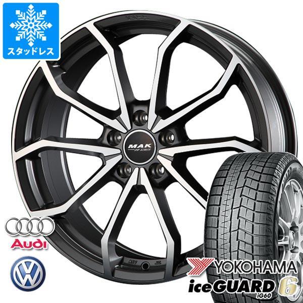 最新な VW ジェッタ用 iG60 スタッドレス ヨコハマ MAK アイスガードシックス 91Q iG60 225/45R17 91Q MAK レーベFF タイヤホイール4本セット:タイヤ1番, 下館市:96e48c2a --- boilers-uu.ru
