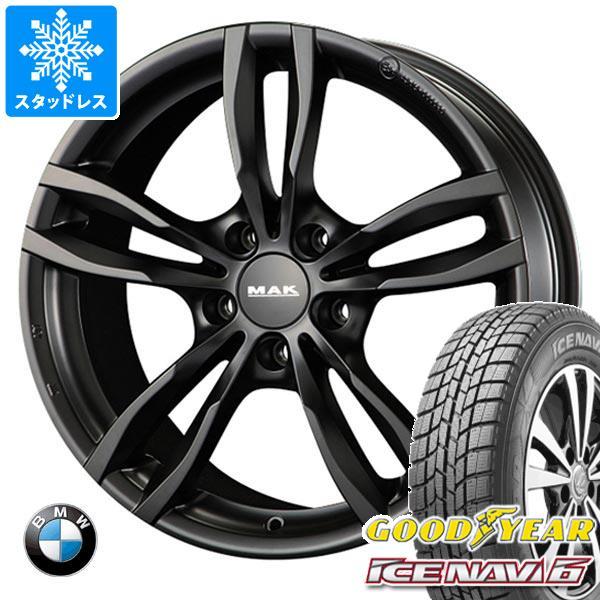 【オープニング 大放出セール】 BMW F32 MAK/F33 4シリーズ用 91Q スタッドレス グッドイヤー グッドイヤー アイスナビ6 225/45R18 91Q MAK ルフト タイヤホイール4本セット, ワカミマチ:2a85521e --- kventurepartners.sakura.ne.jp