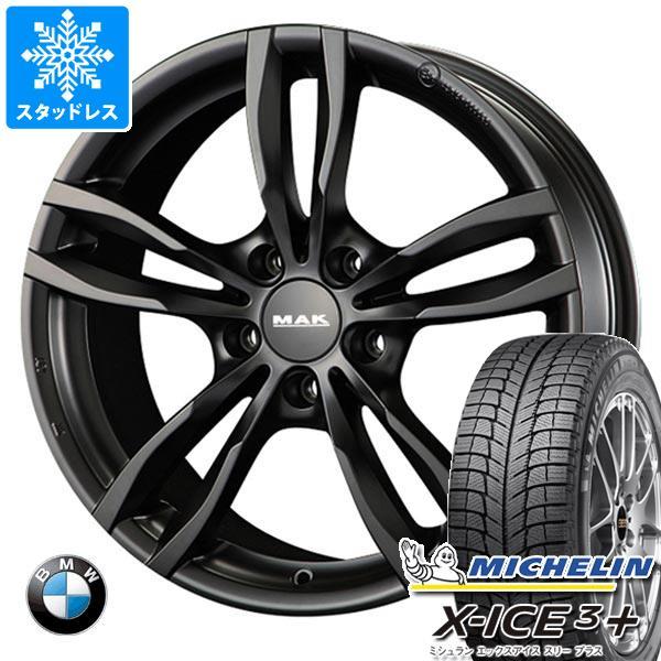 BMW F40 1シリーズ用 スタッドレス ミシュラン エックスアイス3プラス 205/55R16 94H XL MAK ルフト ブラック タイヤホイール4本セット