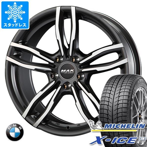 BMW F25 X3用 スタッドレス ミシュラン エックスアイス XI3 245/50R18 104H XL MAK ルフト FF タイヤホイール4本セット