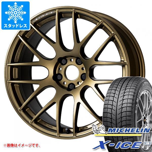 スタッドレスタイヤ ミシュラン エックスアイス XI3 235/40R18 95H XL & エモーション M8R 8.5-18 タイヤホイール4本セット 235/40-18 MICHELIN X-ICE XI3