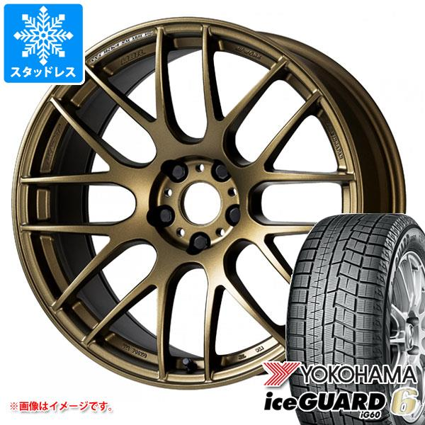 スタッドレスタイヤ ヨコハマ アイスガードシックス iG60 235/40R18 95Q XL & ワーク エモーション M8R 8.5-18 タイヤホイール4本セット 235/40-18 YOKOHAMA iceGUARD 6 iG60