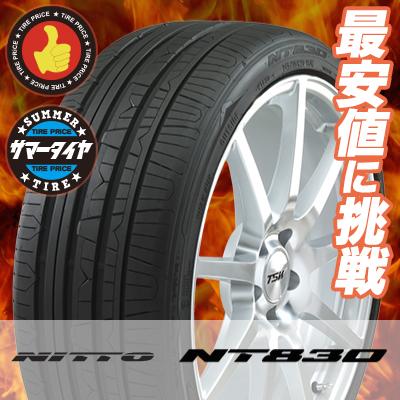 215/45R17 91W ニットー NT830 NITTO NT830 サマータイヤ 17インチ 単品 1本 価格 『2本以上ご注文で送料無料』