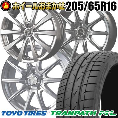 205/65R16 95H TOYO TIRES トーヨー タイヤ TRANPATH ML トランパスML  サマータイヤホイール4本セット