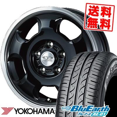 155/80R13 79S YOKOHAMA ヨコハマ BluEarth AE-01 ブルーアース AE01 VICENTE-05 TL ヴィセンテ05 TL サマータイヤホイール4本セット