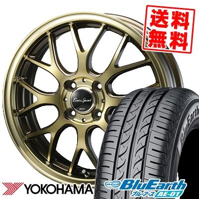 155/55R14 69V YOKOHAMA ヨコハマ BluEarth AE-01 ブルーアース AE01 Eouro Sport Type 805 ユーロスポーツ タイプ805 サマータイヤホイール4本セット