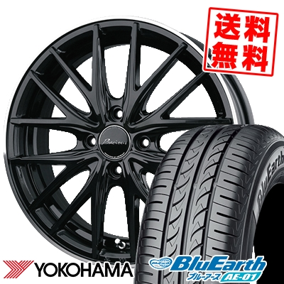 185/55R15 82V YOKOHAMA ヨコハマ BluEarth AE-01 ブルーアース AE01 Precious AST M1 プレシャス アスト M1 サマータイヤホイール4本セット