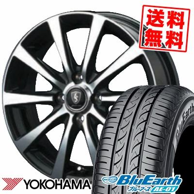 165/65R13 77S YOKOHAMA ヨコハマ BluEarth AE-01 ブルーアース AE01 EuroSpeed BL10 ユーロスピード BL10 サマータイヤホイール4本セット