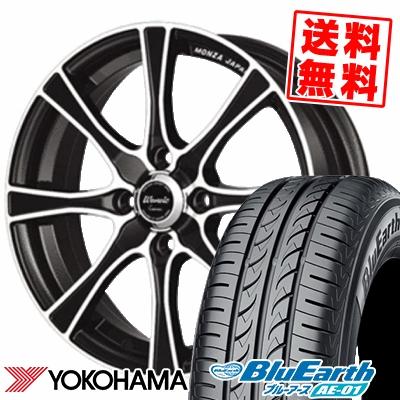 175/60R16 82H YOKOHAMA ヨコハマ BluEarth AE-01 ブルーアース AE01 Warwic Carozza ワーウィック カロッツァ サマータイヤホイール4本セット