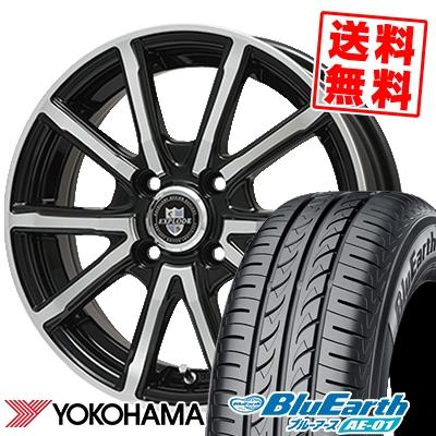 165/55R15 75V YOKOHAMA ヨコハマ BluEarth AE-01 ブルーアース AE01 EXPLODE-BPV エクスプラウド BPV サマータイヤホイール4本セット